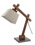 WOOD TABLE LAMP E-14
